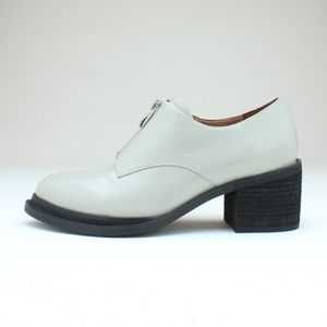 Jeffrey Campbell heeled patent leather oxfords